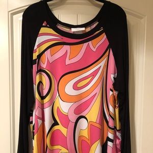 Tops - Woman's plus long sleeve top